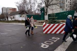 В Охтирці попрощалися з військовими, які загинули у Балаклії