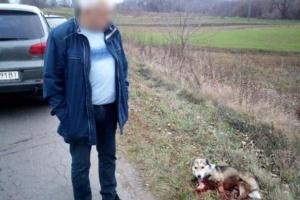 Активисты требуют расследовать издевательство хмельницкого чиновника над собакой