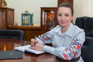 Alona Lebedieva, owner of Aurum Group