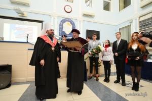 Епіфаній став доктором Київського університету права