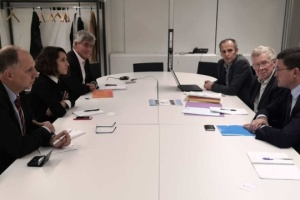 Mariupol mayor in Paris discusses drinking water project for his city