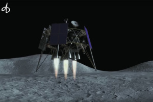 Ukraine presents lunar lander at Dubai Airshow