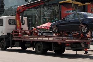 У Києві щодня на штрафмайданчики відправляють близько 300 авто