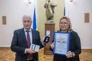 """Перші лауреати отримали відзнаку """"Медаль Ґарета Джонса"""". Серед них – Лариса Івшина"""