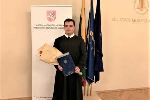 Настоятель української церкви у Вільнюсі отримав подяку від прем'єр-міністра Литви