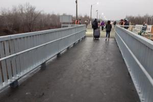 大統領、新設のスタニツャ・ルハンシカの橋を視察