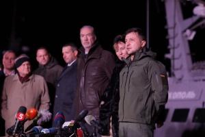 Глава Николаевской ОГА пообещал Зеленскому отремонтировать Южнобугский мост