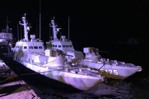 Seized Ukrainian ships return from Russia