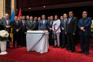 В Киеве устроили прием по случаю 28-летия независимости Кыргызстана