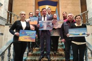 В Узбекистані відбувся флешмоб до Дня Гідності та Свободи