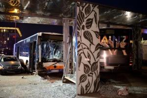 В Германии рейсовый автобус наехал на людей: один погибший, 23 раненых