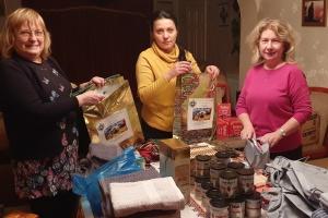 Українки з Ковентрі надіслали подарунки пораненим захисникам України