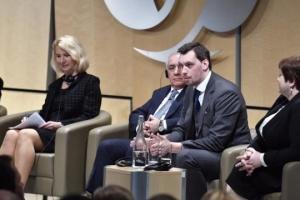 À Londres, Olexiy Hontcharouk exhorte à investir en Ukraine