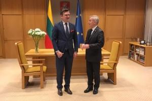 Кулеба и Линкявичюс обсудили подготовку визита Президента Украины в Литву