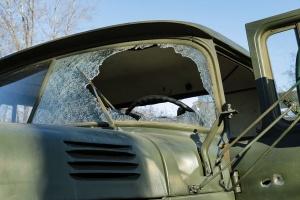 Оккупанты выпустили ракету по грузовику ВСУ, трое раненых