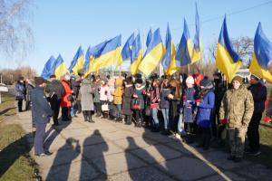 У Краматорську вшанували пам'ять жертв Голодомору