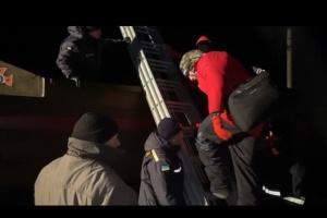 Шторм на Азове: с острова Бирючий эвакуировали 11 человек