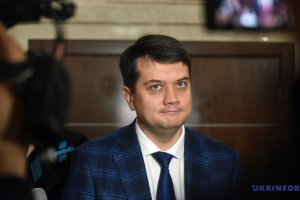 Razumkov sees no grounds for parliament dissolution