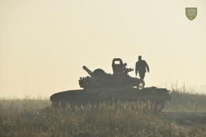 Оккупанты сосредоточили обстрелы на Луганском направлении, ранен военный