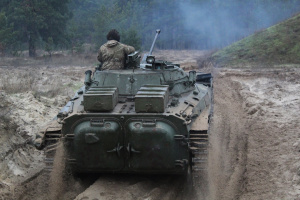 Okupanci siedem razy zrywali rozejm, pod Szyrokino strzelano z moździerzy
