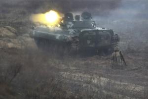 Ocupantes disparan contra las posiciones de las Fuerzas Armadas cerca de Mariinka