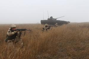 Окупанти накрили мінометним вогнем позиції ЗСУ під Оріховим