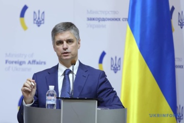 Rail link with occupied Donbas may be restored, Ukrainian foreign minister says
