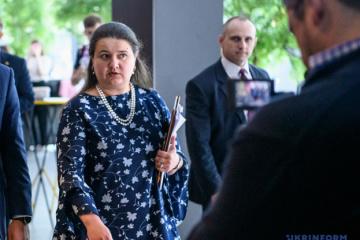 Oksana Markarova: Espérons que le prochain programme avec le FMI  sera le dernier