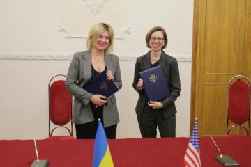 ウクライナ・米国、防衛協力に関する議定書に署名