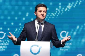 Zelensky calls Ukraine the most attractive startup in the world