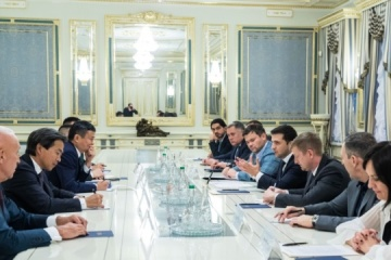 President Zelensky suggests Alibaba founder open R&D center in Ukraine