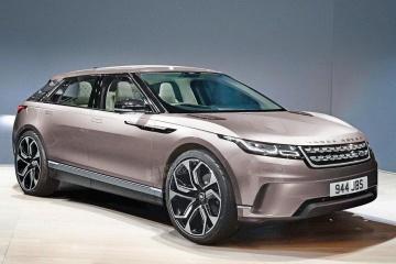 Land Rover выпустит небольшой электрокроссовер