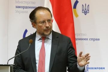 Austriackie Ministerstwo Spraw Zagranicznych potępiło Federację Rosyjską za aneksję Krymu i konflikt w Donbasie
