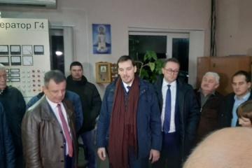 Honczaruk przybył do obwodu lwowskiego z powodu opóźnienia sezonu grzewczego