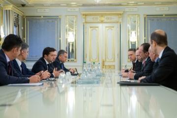 Selenskyj wirbt um österreichische Investitionen