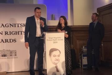 Oleh Senzow mit Magnitski-Preis geehrt