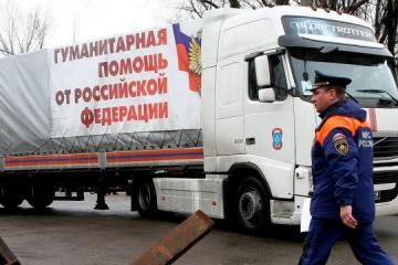 OSCE records Russian 'humanitarian convoy' in Donbas