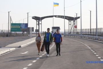 Kalanchak, Chonhar checkpoints on border with Crimea open after repairs