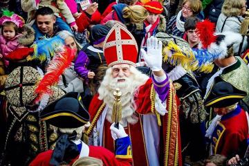 У Нідерландах відзначають приїзд Сінтерклааса