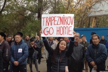 "Russland: Proteste in Kalmückien gegen Bürgermeister aus ""Volksrepublik Donezk"""