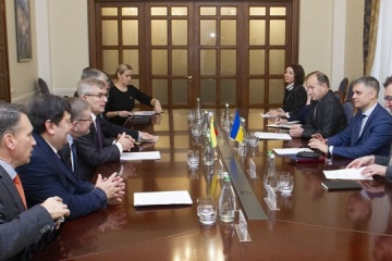 Lithuania, Ukraine share common position on danger of Nord Stream 2