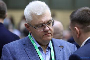 Serhiy Syvokho s'est fait attaquer lors d'une présentation de la Plateforme nationale pour la réconciliation