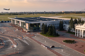 Kharkiv airport sees almost 40% rise in passenger flow in January-November 2019