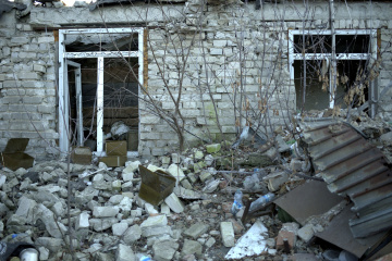 Over 13,000 houses damaged in Donetsk region due to war – Interior Ministry