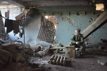 統一部隊、11月27日の露占領軍攻撃9回、宇軍人負傷3名と発表