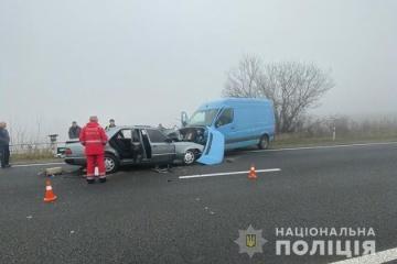 Zwei schwere Verkehrsunfälle mit Todesfolgen in Regionen Ternopil und Chmelnyzkyj