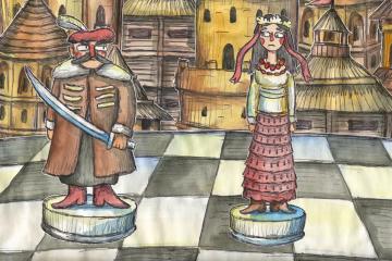 「ウクライナ史ラップ」動画 トリピッリャ文化から現代までアニメで見る歴史