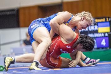 La selección ucraniana se encuentra en el Top 5 en la Copa Mundial de lucha libre femenina