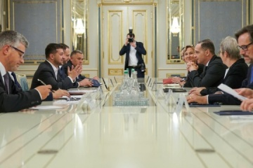 Zelensky and Maas discuss situation in Donbas and Nord Stream 2