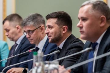 """Deo-okupacja i więźniowie polityczni - Zełenski chce usłyszeć konkretne terminy na """"spotkaniu w formacie normandzkim"""""""
